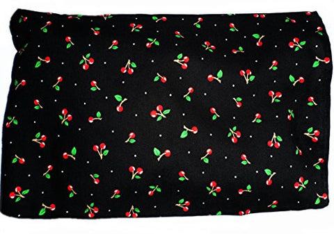 **Black Cherries** Microwave and Freezer Safe Hot / Cold Pad with Machine Washable Sleeve