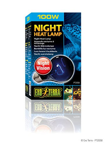 Exo Terra Night Heat Lamp 100w