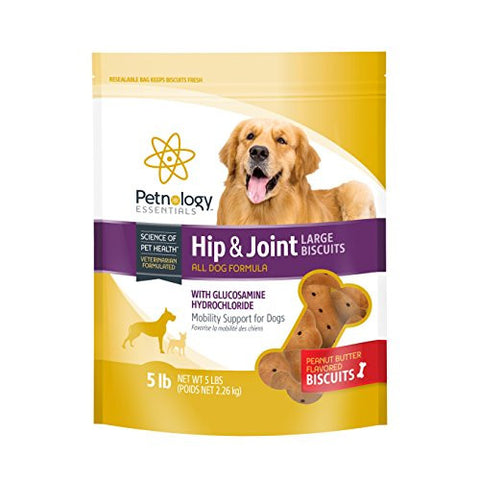 Petnology Hip and Joint Biscuits, 5 lb