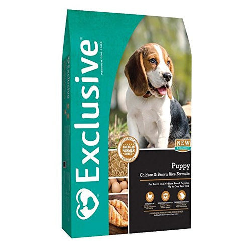 Purina Animal Nutrition Exclusive Puppy Chicken Brown Rice 15lb 15LB