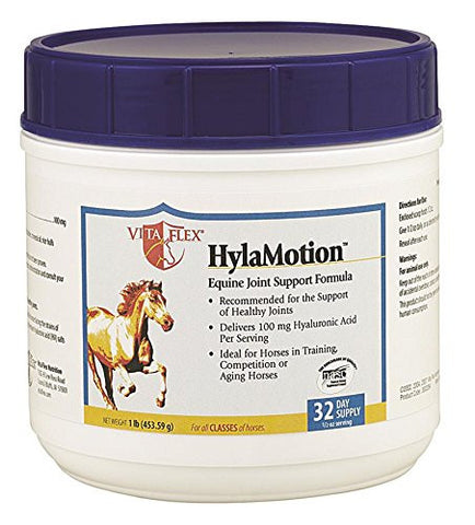 Vita Flex HylaMotion Equine Joint Support Forumula, 1-Pound, 32 Day Supply