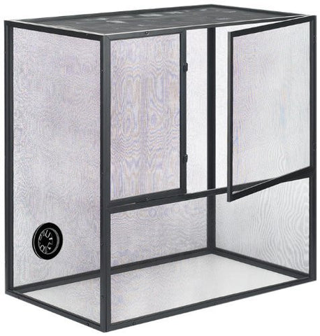 "18"" x 12"" x 20"", Durable PVC Bottom and Water-Resistant Fresh Air Screen Reptiles Habitat"
