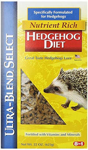 2 Pack, 22-Ounce, Hedgehog Diet with Vitamins & Minerals