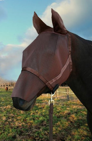 Kensington KPP Natural Look Catch Fly Mask with Nose/Ears, Bay, Large