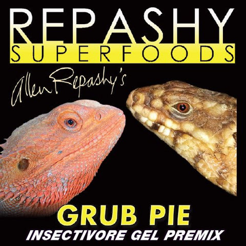 Repashy Grub Pie Insectivore Diet Gel Premix (Reptile) - All Sizes - 3 Oz JAR