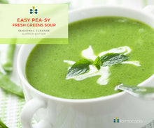 Easy Pea-sy Fresh Greens Soup