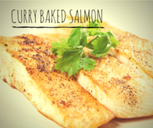 Curry Baked Salmon