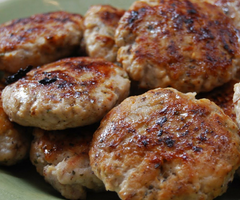 Turkey Sage Breakfast Patties