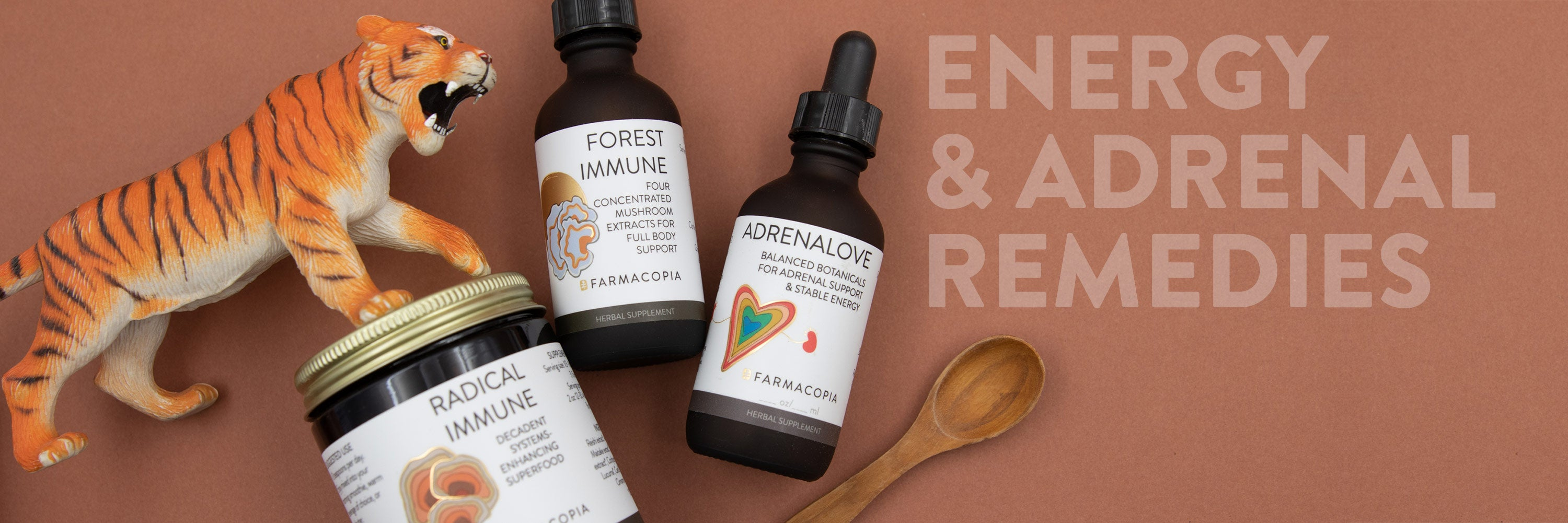energy and adrenal herbal tinctures