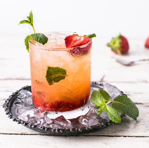strawberry shrub recipe