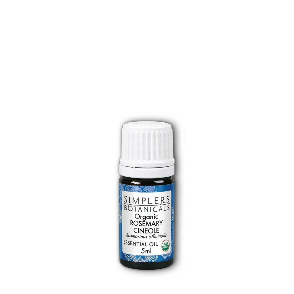 Simplers Botanicals Organic Rosemary Cineole Essential Oil