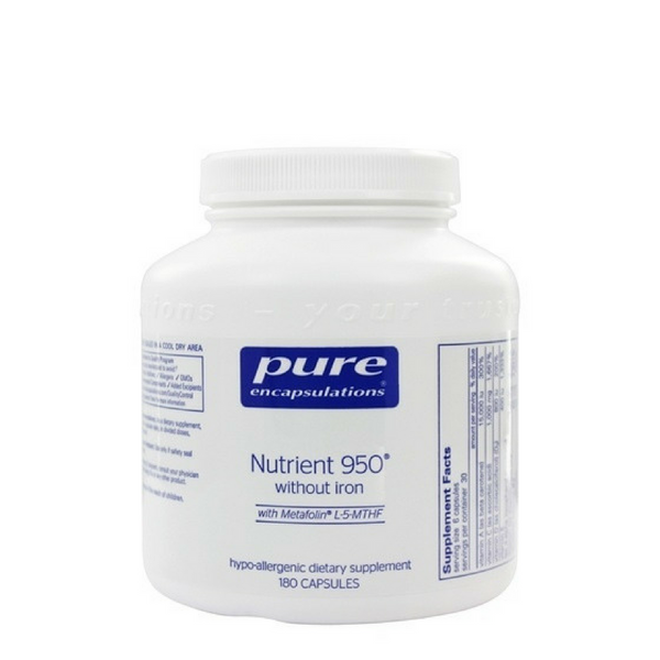 Pure Encapsulations Nutrient 950 (without Iron)
