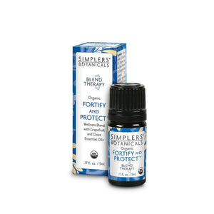 Simplers Botanicals Organic Fortify & Protect Essential Oil