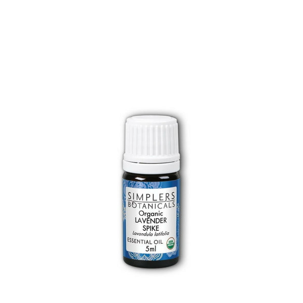 Simplers Botanicals Organic Lavender Spike Essential Oil