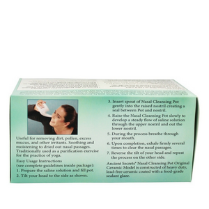 Ancient Secrets Ayurvedic Nasal Irrigation Pot