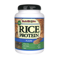 Brown Rice Protein Plain Raw & Sprouted