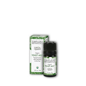 Simplers Botanicals Organic Yeast Aid Essential Oil Blend