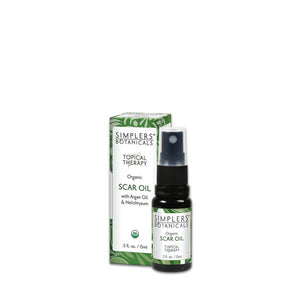 Simplers Botanicals Organic Scar Oil Essential Oil Blend