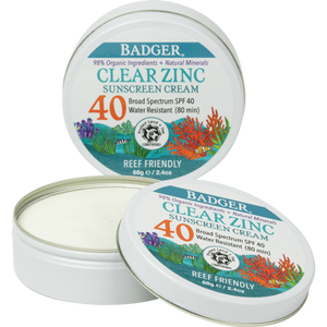 SPF 40 Clear Zinc Sunscreen