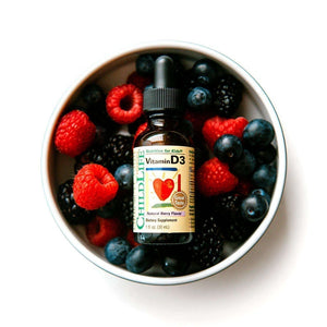 Vitamin D3 500iu Natural Berry Flavor