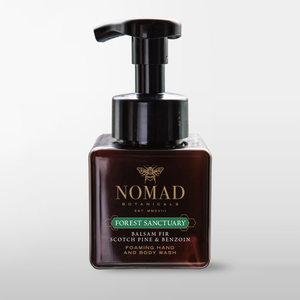Nomad botanicals Foaming Hand and Body Wash Forest Sanctuary