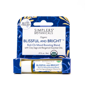 Simplers Botanicals Roll-ons Be Blissful and Bright