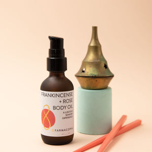 Frankincense Rose Body Oil