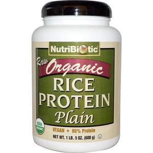 NutriBiotic Raw, Organic Sprouted Brown Rice Protein Powder