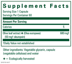 gaia Olive Leaf Extract