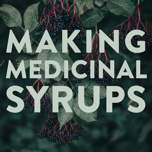 Making Medicinal Syrups