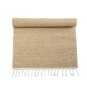 Fair Trade hand woven veitver bathmat