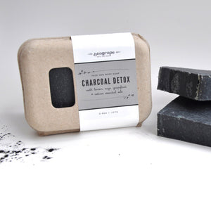 Seagrape Activated Charcoal Detox Face and Body Soap