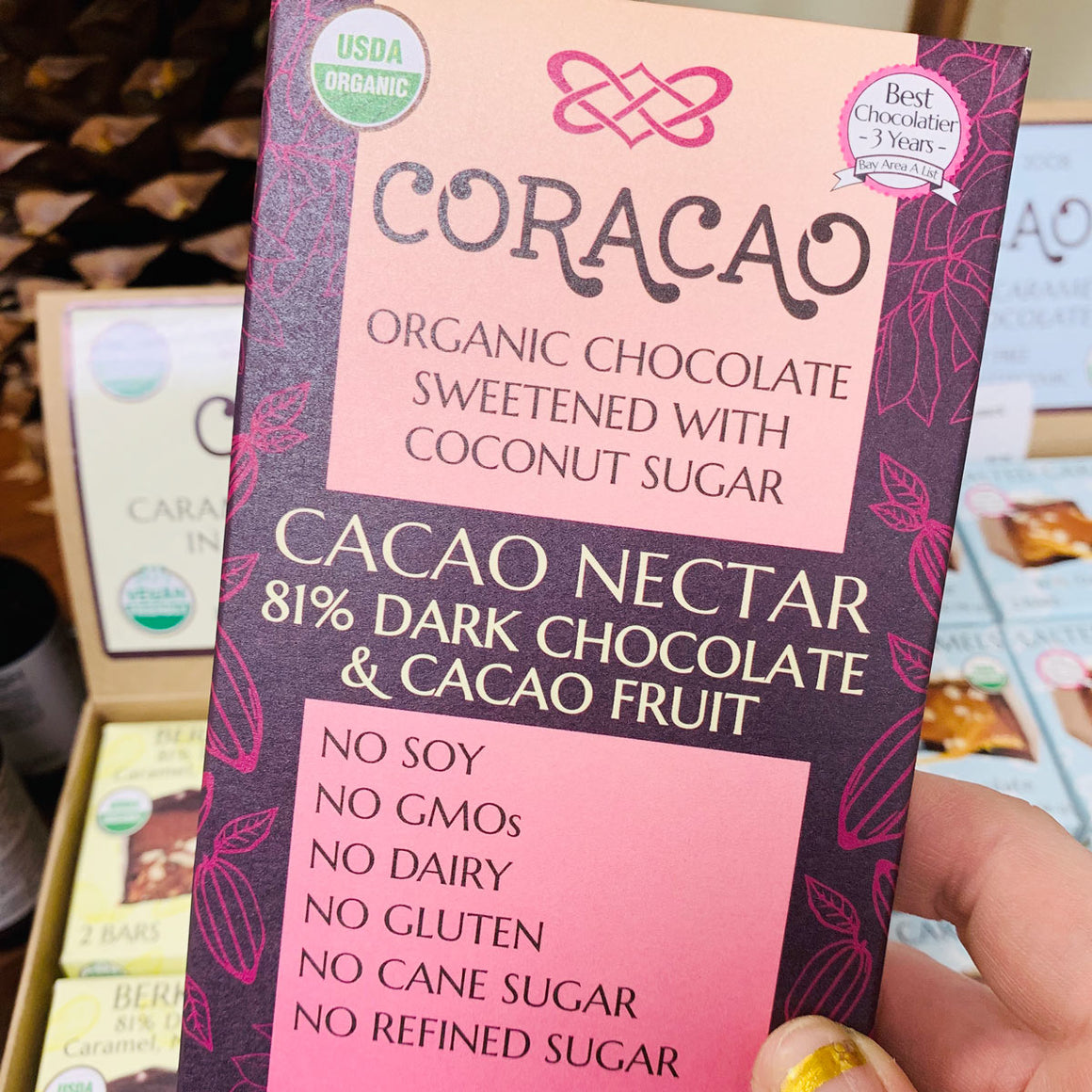 Heirloom Cacao Nectar Bar