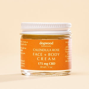 Dogwood Calendula Rose Face + Body Cream