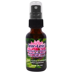 Fear Less Spray Flower Essence Services essential oils natural stress relief