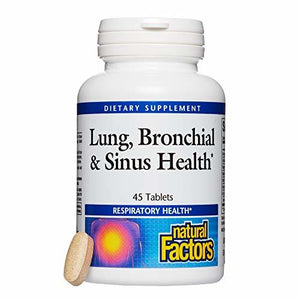 natural factors Lung+Bronchial+Sinus Health