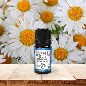 Simplers Botanicals Organic Moroccan Blue Chamomile Essential Oil