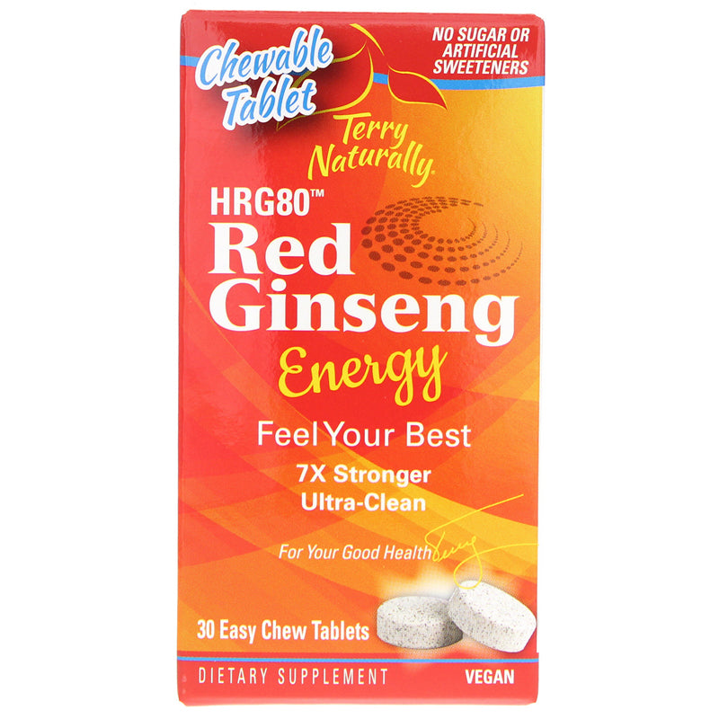 Red Ginseng Energy Chewable