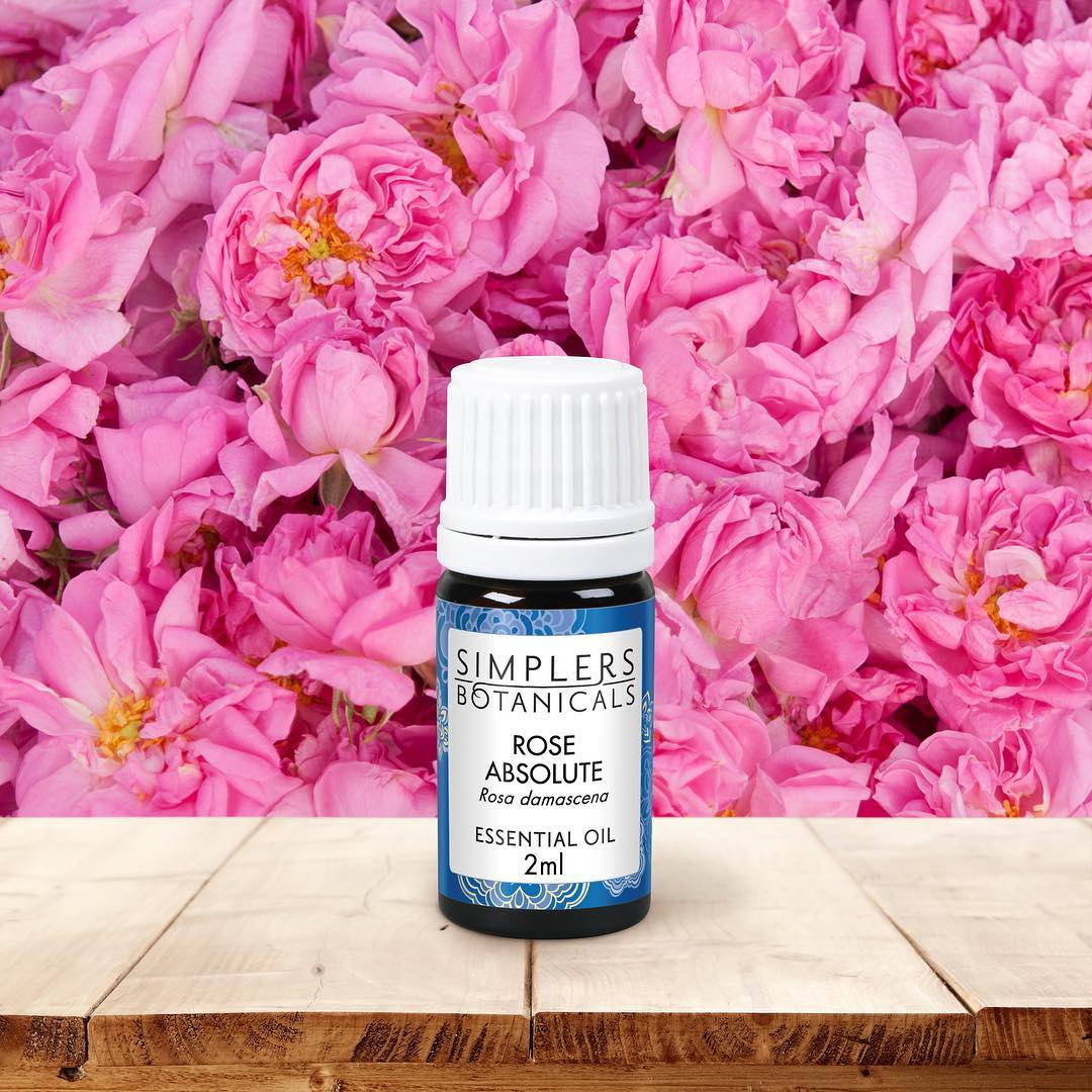 Simplers Botanicals Rose Absolute Essential Oil