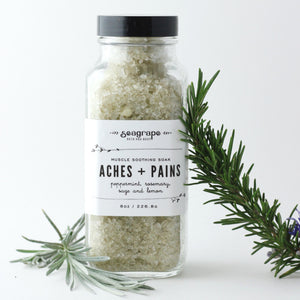 Seagrape Bath and Body Aches and pain muscle soak