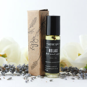 Seagrape Relax Essential Oil Roll On Perfume
