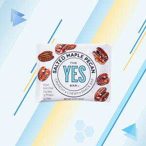 the yes bar maple pecan