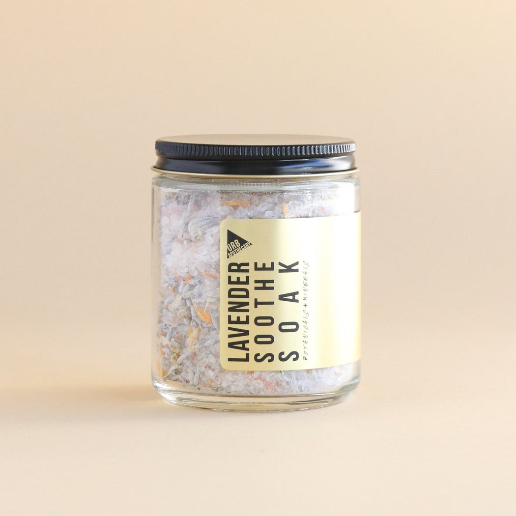 urb apothecary rose salt soak