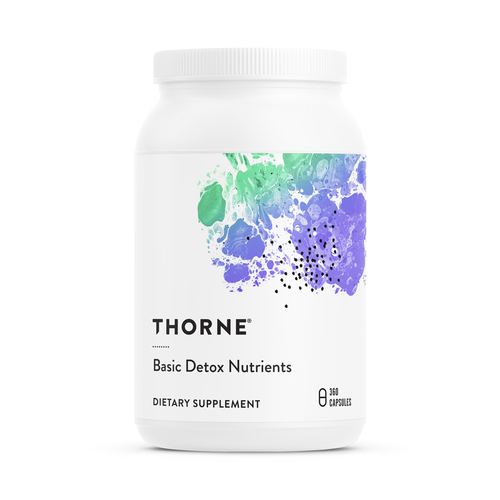 Thorne Research Basic Detox Nutrients