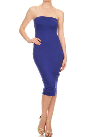 Kim Bodycon Tube Dress