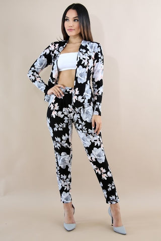 Khloe Floral 2pc Suit