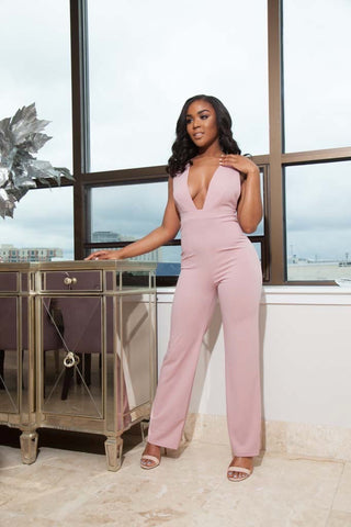 Blair Blush Jumpsuit