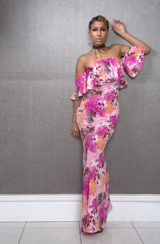 Chrissy Floral Maxi