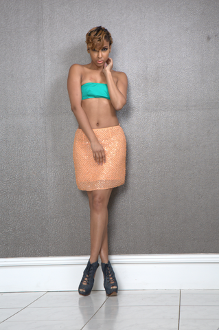 Ciara Beaded Skirt