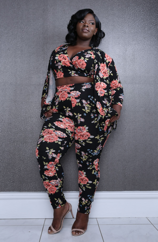 Tammy Floral printed 3-piece set